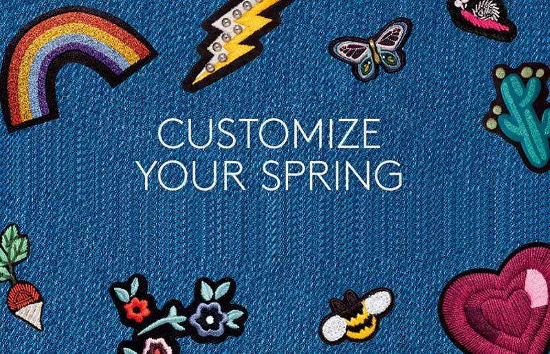 Customize Your New Spring Wardrobe!_比斯特苏州购物村(奕欧来)